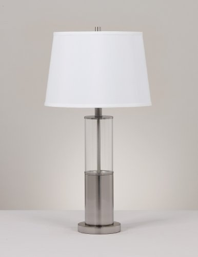 Set Of 2silver Table Lamps By Famous Brand Furniture Lily B Beachamske