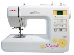 Janome 7330 Magnolia Computerized Sewing Machine with 30 Built-In Stitches