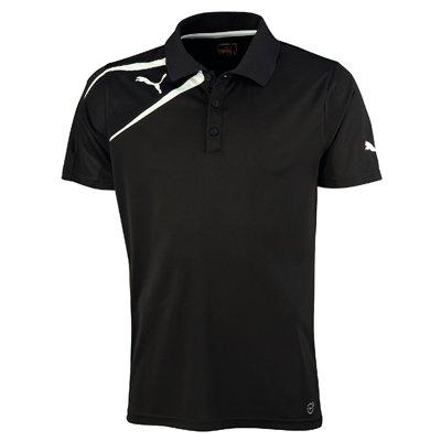 Puma Spirit Mens Training Polo Tee Shirt Black Size Small from Puma