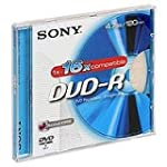Sony DVD-R 4.7GB 5DMR47AS16 - Confezi...
