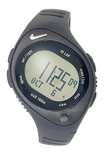 Nike Women's Bowerman Series WR0124-001 Polyurethane Quartz Watch with LCD Dial