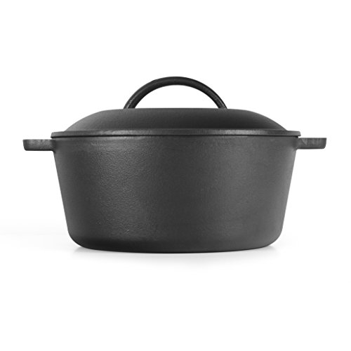 Westinghouse WFL545 Select Series Seasoned Cast Iron 5 Quart Dutch Oven - Amazon Exclusive