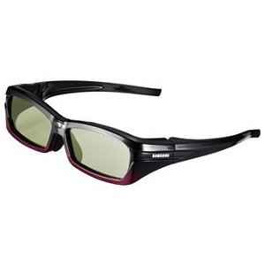 Samsung SSG-2200AR Rechargeable Adult 3D Glasses, Black