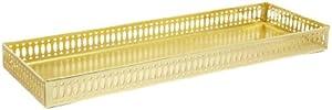 Taymor Polished Brass Large Vanity Tray