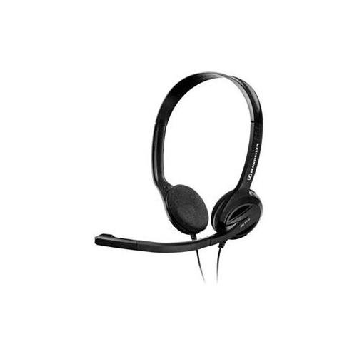Sennheiser Pc 31-Ii Headset Stereo - Mini-Phone - Wired - 32 Ohm - 40 Hz - 18 Khz - Over-The-Head Behind-The-Neck - Binaural - Semi-Open - 9.84 Ft Cable - Noise Cancelling Microphone (Sennheiser 504522)