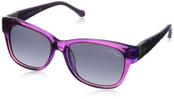 Roberto Cavalli Women's RC785T5582B Wayfarer Sunglasses,Matte Violet,55 mm