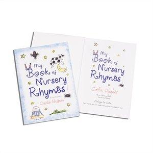 Personalised My Book Of Nursery Rhymes (Softback) by GoneDigging