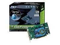 PNY GeForce(TM) 7 7600GT PCI-E 256MB - Tarjeta gráfica (2560 x 1600 Pixeles, GeForce 7600 GT, 560 MHz, SLI, 256 MB, GDDR3)
