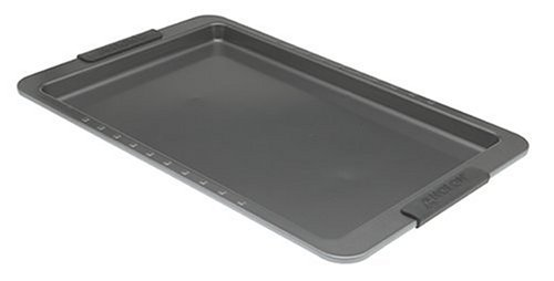 Anolon Sure Grip Bakeware 11 by 17 Inch Cookie Pan - Buy Anolon Sure Grip Bakeware 11 by 17 Inch Cookie Pan - Purchase Anolon Sure Grip Bakeware 11 by 17 Inch Cookie Pan (Anolon, Home & Garden, Categories, Kitchen & Dining, Cookware & Baking, Baking, Baking & Cookie Sheets)