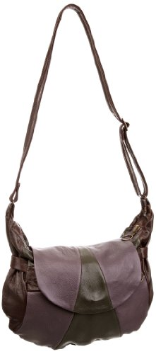 Fly London Women's Slice Everyday Bag Militar/Lilli/Dark Brown P974239000 Medium