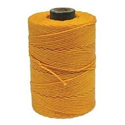 Waxed Irish Linen Cord 4 Ply 10 Yards BRIGHT AUTUMN YELLOW