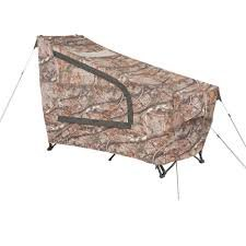 Pre-Assemble Ozark Trail Instant Tent Cot With Realtree Ap Camo Rainfly, Sleeps With Realtree Ap Rainfly. front-101805