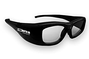 True Depth 3D Glasses for 2011 Mitsubishi 3D TVs (740 and 840 series with internal emitter)