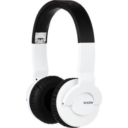 Nixon Stylus Headphones White/Black