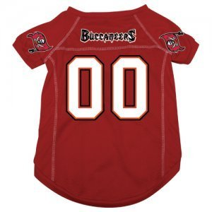 Tampa Bay Buccaneers Pet Dog Football Jersey LARGE