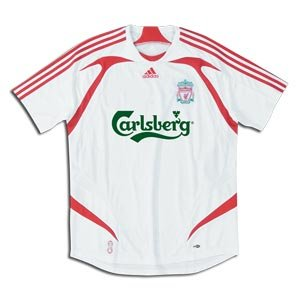 Liverpool 2008 Away Soccer Jersey