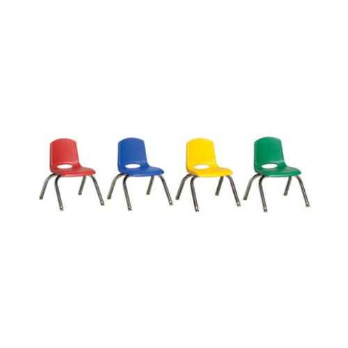 Groovy Ecr4Kids 14 Inch Polypropylene Plastic Student Stacking Unemploymentrelief Wooden Chair Designs For Living Room Unemploymentrelieforg