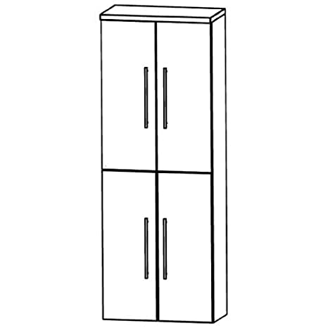 Kera Puris Trends (HNA036A7 Bathroom High Cabinet 60 CM
