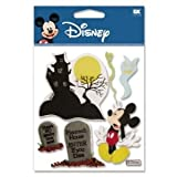 12 Pack DISNEY 3D STIX HAUNTED MANSION Papercraft, Scrapbooking (Source Book)