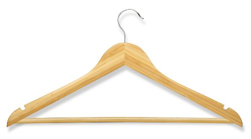 Honey-Can-Do-HNG-01530-Bamboo-Suit-Hanger-4-Pack