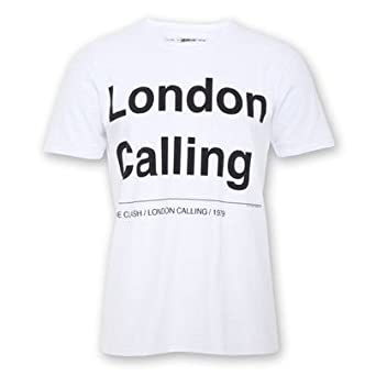 THE CLASH - LONDON CALLING - OFFICIAL AMPLIFIED MENS T SHIRT (S)