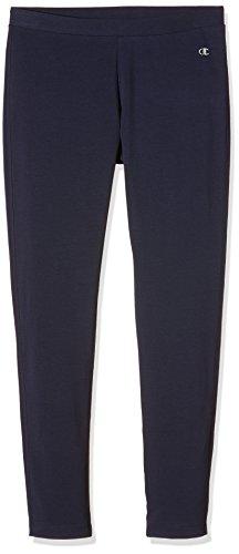 Champion W Fuseaux Heritage Stretch Terry Pantalone, Blu, L