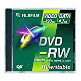 DVD -RW 4.7GB Kapazitt: 4,7 GB/ Verpackung: Jewel Case/ Bedruckbar: nein