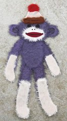 Prima 534707 Little Darlings Handmade Animal Art, Sock Monkey