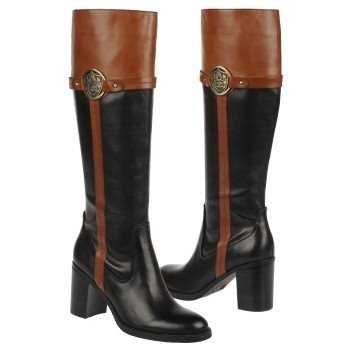 Etienne Aigner Women's Winston Knee High Boots,Black,7.5 M