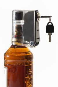 Tantalus 6 Pk. Of Liquid Bottle Locks Keeps Hooch Out of the Wrong Hands (Liquor Bottle Lock compare prices)