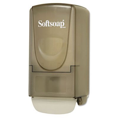 softsoap-products-softsoap-plastic-liquid-soap-dispenser-800ml-5-1-4w-x-3-7-8d-x-10h-gray-sold-as-1-