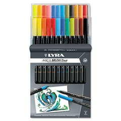 * Dual Tip Marker, Assorted, 24 per Pack