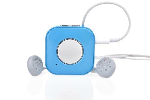 Favi Clip Bluetooth Wireless Headphone Adapter (Blue)
