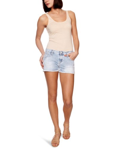 Replay WV663T Women's Shorts Denim W33 IN