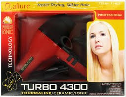 Allure Turbo 4300 Tourmaline/Ceramic/Ionic Hair Dryer (Blower Turbo Ceramic compare prices)