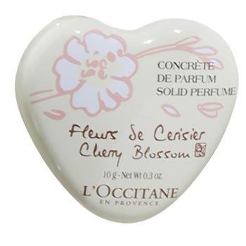 L'OCCITANE(ロクシタン)チェリーブロッサム ハートソリッドパフューム