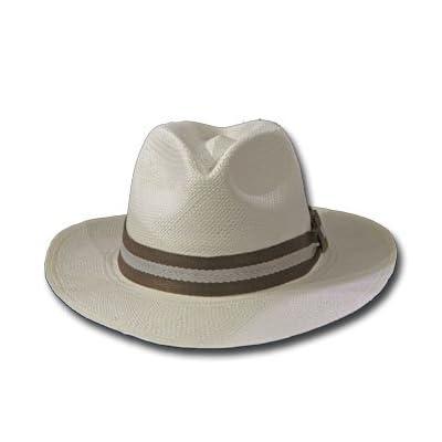 New FEDORA BUGATTI Panama Hat Montecristi FINE STRAW