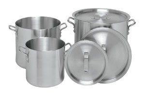 60 QT COMMERCIAL ALUMINUM STOCK POT - NSF