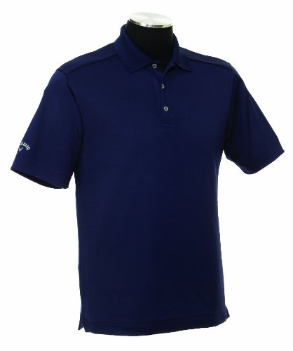 Callaway Men's Solid Polo Short Sleeve Shirt