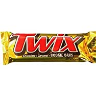 Liberty Distribution 111786 Twix Caramel Cookie Candy Bar Pack of 36