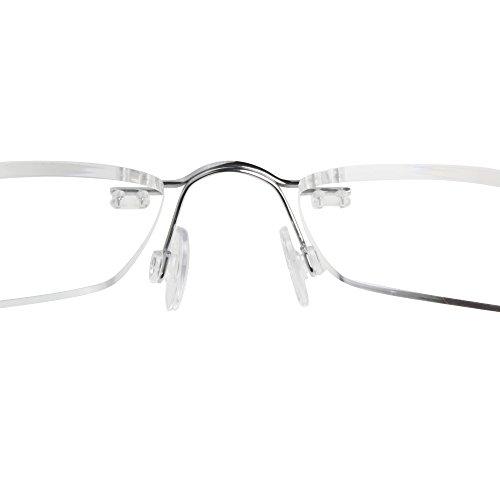fe01a49ab0 LianSan Titanium Lightweight Reading Glasses Men Womens Fashion Rimless New