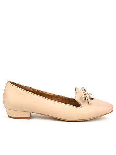 cendriyon-ballerine-beige-facon-mocassin-amana-simili-cuir-chaussures-femme-taille-41