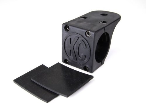 "Kc Hilites 7307 Tube Clamp Mount Bracket For 1.75"" To 2"" Diameter Round Light Bars And Roof Racks"