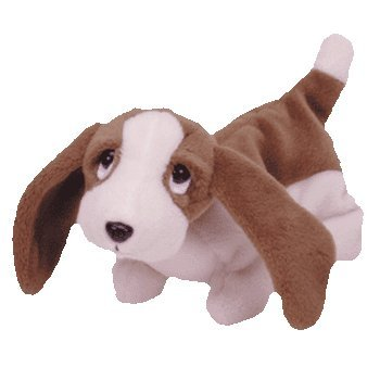 Ty Beanie Babies, Tracker The Basset Hound Dog - 1
