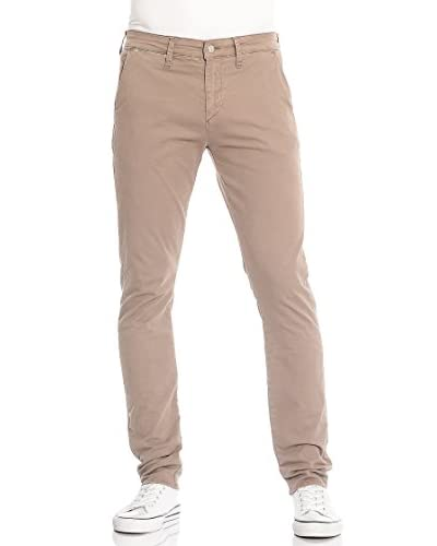Meltin'Pot Pantalone Simon-Mp020 [GREY-LEAD]