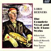 Complete Vocal & Solo Piano Music by Lord Berners