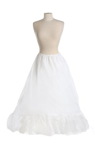 New Very Full Bridal Drawstring Petticoat Crinoline Wedding Gown Slip by Bags for Less