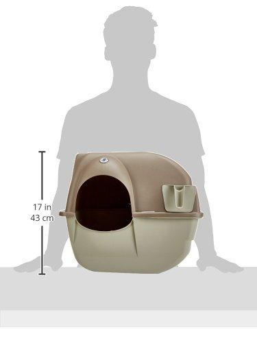 Omega Paw Self-Cleaning Litter Box, Regular,