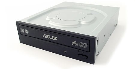 Asus 24x DVD-RW Serial-ATA Internal OEM Optical Drive DRW-24B1ST (Black)