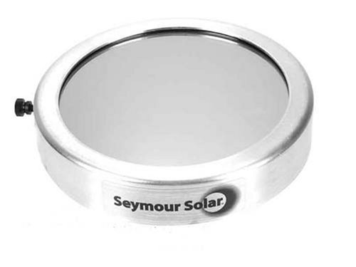 Seymour Solar Telescope Filter (Sf500) For Celestron: Firstscope 76, Nexstar 4/4Se, C4, 102Hd; Meade: Etx 105, Dsx 102; Orion: Ed 80/100, Starmax/Apex 102, Astroview 100, Skyview Pro 100; Tele Vue 101, 102; Questar 4.75""